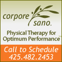corpore sano. Physical therapy for optimum performance. Call to schedule 425.482.2453