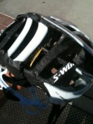 Specialized Prevail: I wear my helmet