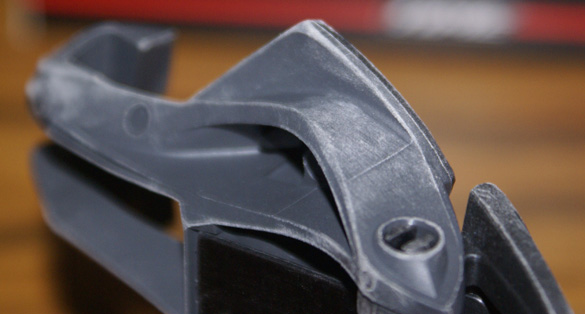 Time Xpresso pedal with sanded edges